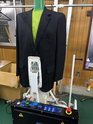ネットで購入された洋服のシワ伸ばし・プレス